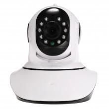 Домашняя IP камера видеонаблюдения Zodikam 100 (WiFi, ИК, HD, звук, поворотная, датчики влажности и температуры)