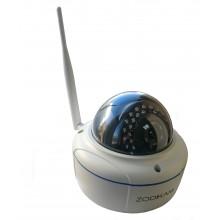 Уличная купольная 3G камера видеонаблюдения Zodikam 201 (GSM камера, работа от сим-карты)