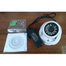 Купольная IP камера видеонаблюдения Zodikam 312 (2МП, POE, 1280x720, P2P, Onvif, IP66, ИК)