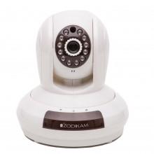 Поворотная IP WiFi камера Zodikam 802 (P2P, WiFi, HD, 1МП, ИК, звук, запись на MicroSD)