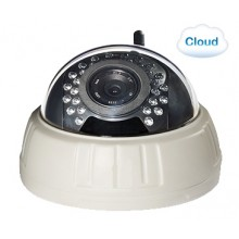 Облачная IP WiFi камера видеонаблюдения Zodiak 911 (P2P, Onvif, RTSP, Облако, WiFi, ИК, HD, 1280x720, 1МП, запись на MicroSD)