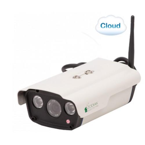 Облачная уличная IP WiFi камера видеонаблюдения Zodiak 919 (P2P, Onvif, RTSP, Облако, WiFi, ИК, HD, 1280x720, 1МП, запись на MicroSD)